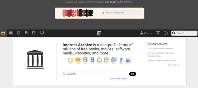 Cara Mengunduh File Di Website Archive.org Secara Sekaligus Sebagai File ZIP