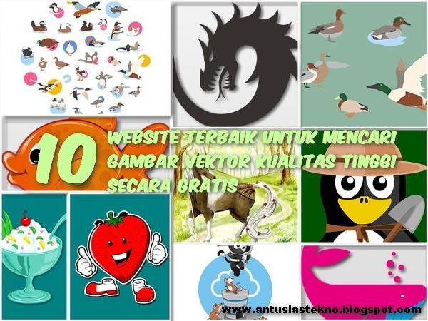10 Website Terbaik Untuk Mencari Gambar Vektor Kualitas Tinggi Secara Gratis