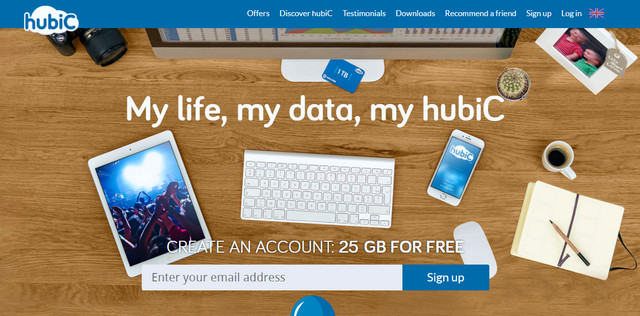 HuBic, Tawarkan 25 GB Gratis Penyimpanan Data Secara Online