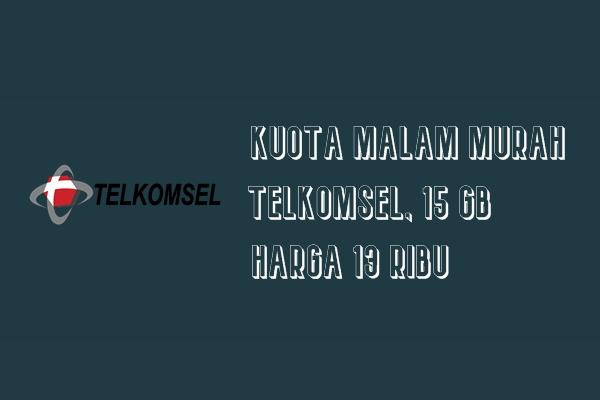 Kuota Malam Murah Telkomsel