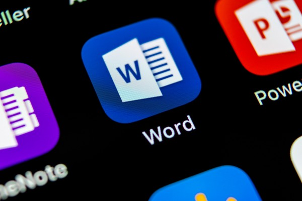 Template Microsoft Word
