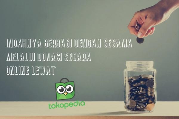 Donasi Di TokoPedia