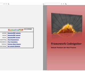 SumatraPDF Aplikasi Pembuka Dokumen PDF Ringan Di Windows 10