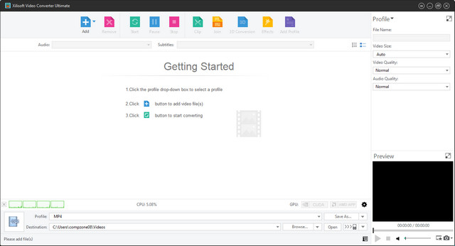 Aplikasi Xilisoft Video Converter