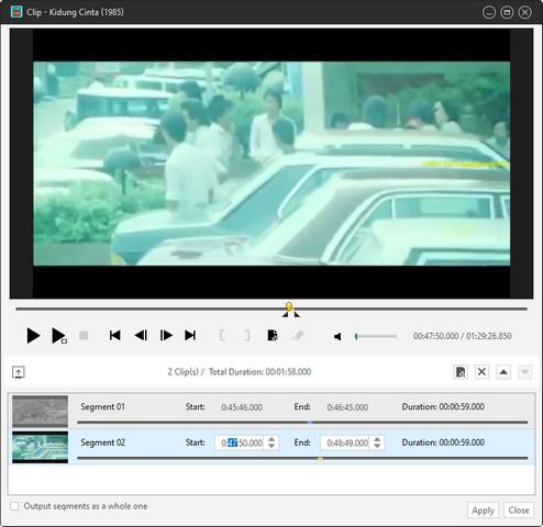 Video Clip Segment
