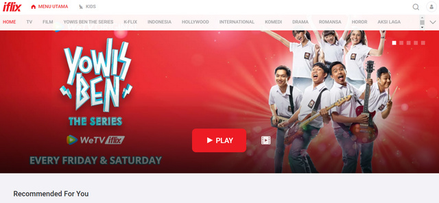 Website iFlix