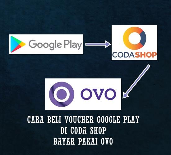 Beli Voucher Google Play Di Coda Shop Bayar Pakai OVO
