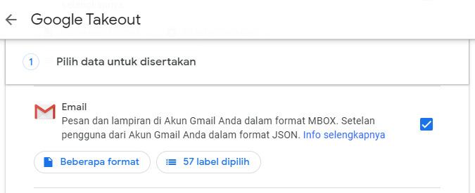 Backup Gmail Di Google Takeout