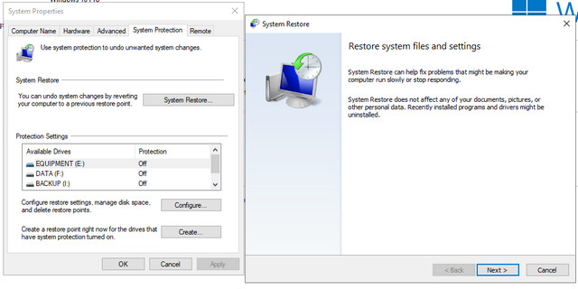 Sistem Restore Windows