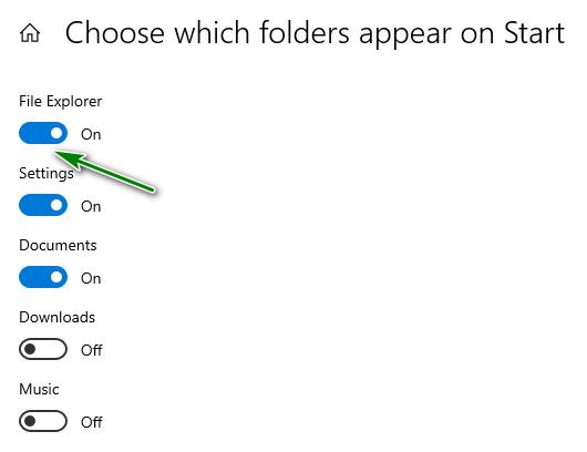 Menjalankan File Explorer Menggunakan Tombol Start Menu