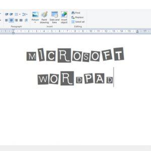 Microsoft Wordpad