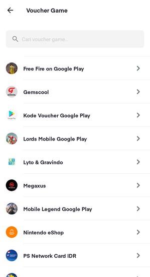 Voucher Google Play Di Ovo
